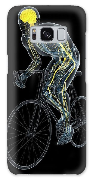 Nervous System Galaxy Case - Cyclist by Sciepro/science Photo Library