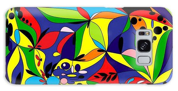 Design By Loxi Sibley Galaxy Case by Loxi Sibley