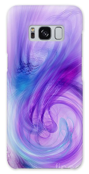 Excellent Abstract Forms Galaxy Case