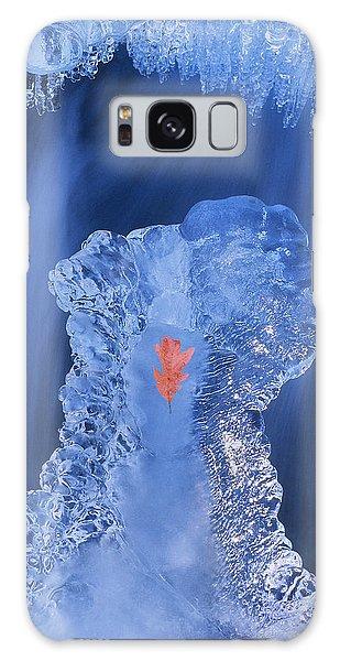 Frozen Beauty Aka Ice Is Nice IIi Galaxy Case by Bijan Pirnia