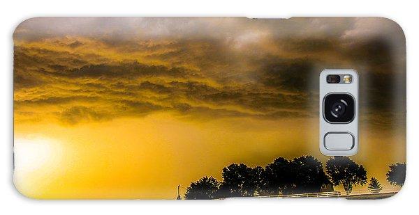Late Afternoon Nebraska Thunderstorms Galaxy Case