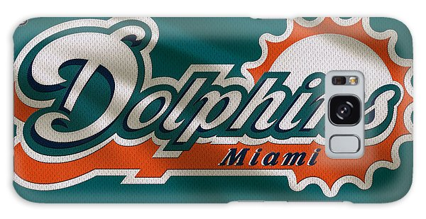 Dolphin Galaxy Case - Miami Dolphins Uniform by Joe Hamilton