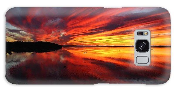 Missisquoi Sunset Galaxy Case