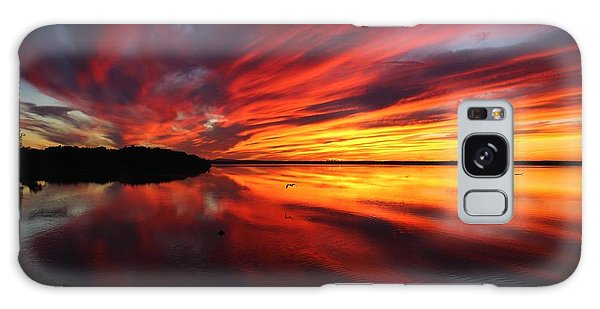 Missisquoi Sunset Galaxy Case