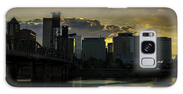 Portland Waterfront Galaxy Case