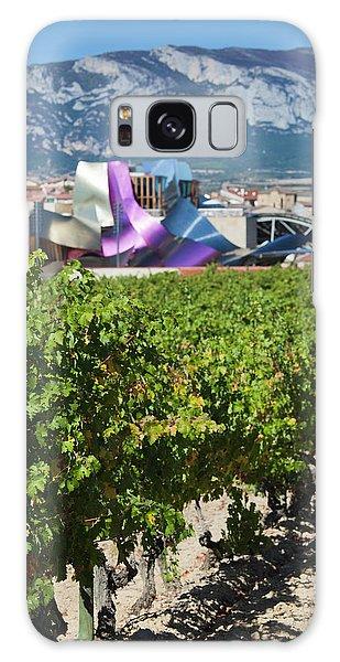 Gehry Galaxy Case - Spain, Basque Country Region, La Rioja by Walter Bibikow