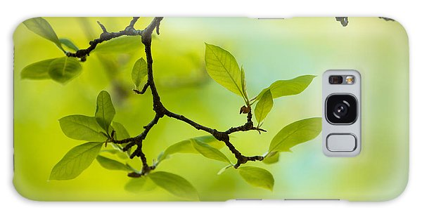 Limb Galaxy Case - Spring Green by Nailia Schwarz