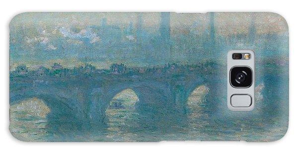 Art Institute Galaxy Case - Waterloo Bridge by Claude Monet