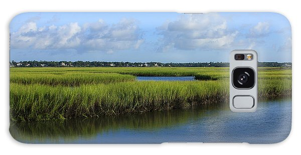 Wrightsville Beach Marsh Galaxy Case by Mountains to the Sea Photo