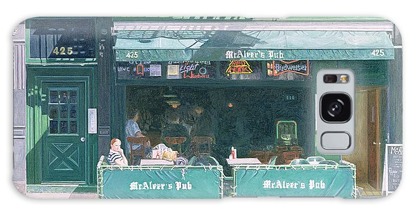 Outdoor Dining Galaxy Case - 80th And Amsterdam Avenue by Anthony Butera