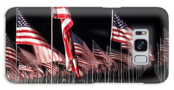9-11 Flags Galaxy Case by Gandz Photography