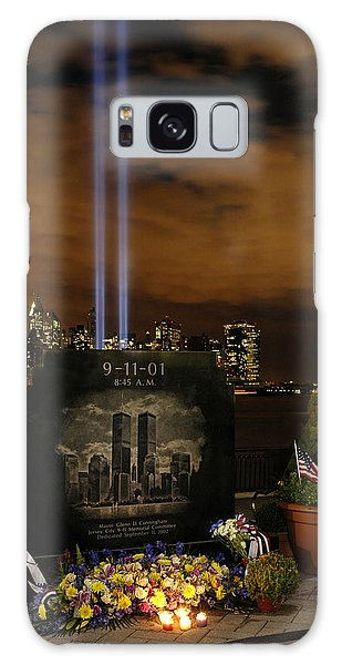 9-11 Monument Galaxy Case by Dave Mills