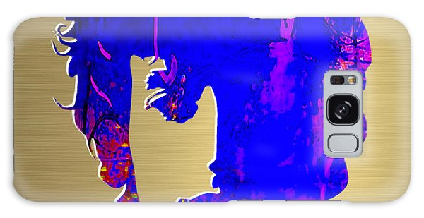Folk Singer Galaxy Case - Bob Dylan Gold Series by Marvin Blaine