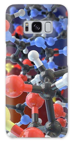 Molecular Biology Galaxy Case - Dna Molecule by Maurizio De Angelis