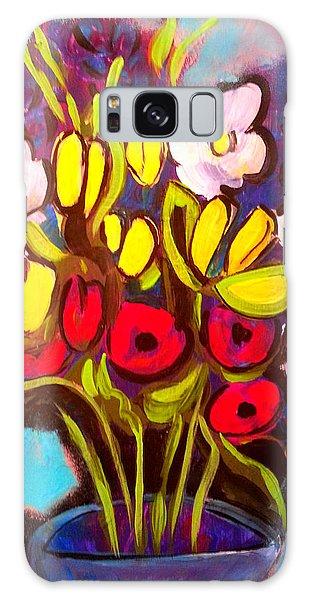 Spring Flowers Galaxy Case