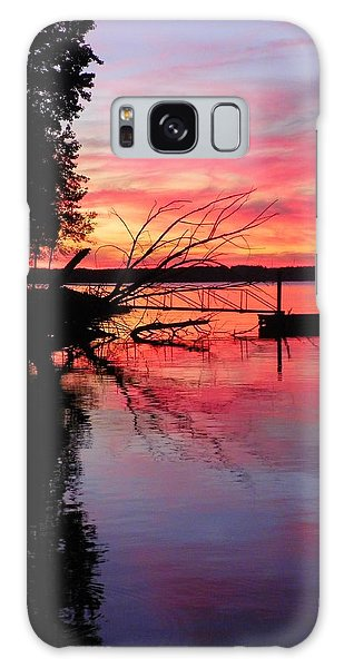 Galaxy Case featuring the photograph Sunset 9 by Lisa Wooten