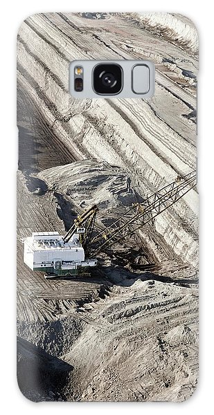 Excavator Galaxy Case - Surface Coal Mine by Jim West