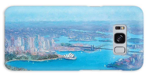 Sydney Harbour And The Opera House Aerial View  Galaxy Case