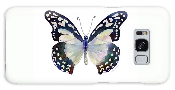 90 Angola White Lady Butterfly Galaxy Case