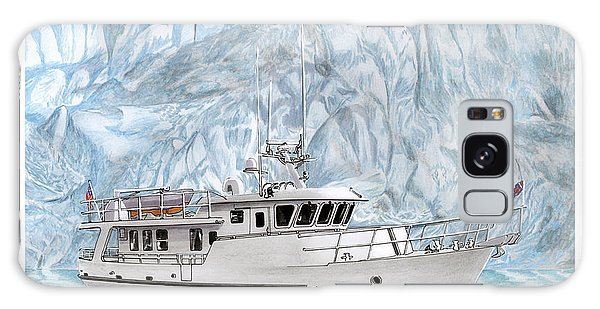 Motor Yacht Galaxy Case - Its Cold As Ice Its Paridise by Jack Pumphrey