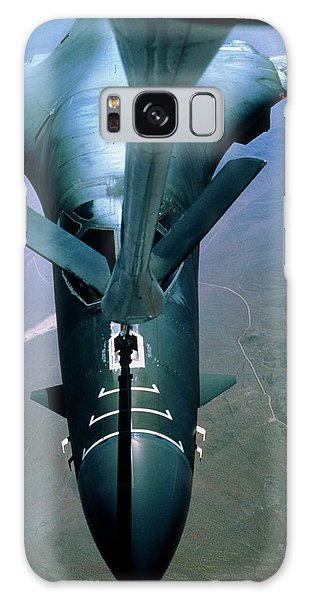 Bomber Galaxy Case - A B-1 Bomber Undergoing Aerial Refueling by Peter Menzel/science Photo Library