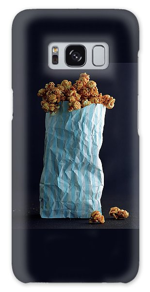 A Bag Of Popcorn Galaxy Case