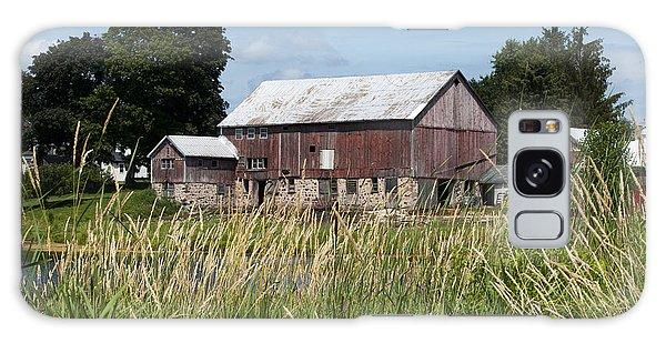 A Barn And Pond Galaxy Case