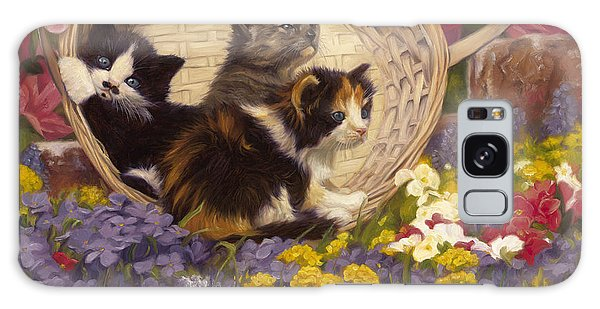 Calico Cat Galaxy Case - A Basket Of Cuteness by Lucie Bilodeau