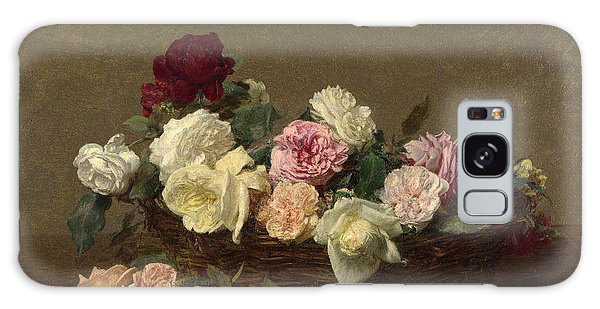 A Basket Of Roses Galaxy Case