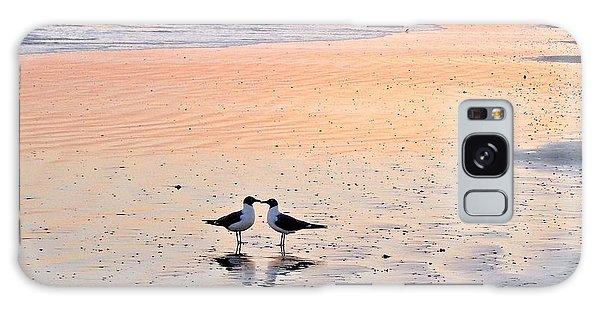 A Beach Romance Galaxy Case