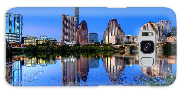 A Beautiful Austin Evening Galaxy Case by Dave Files