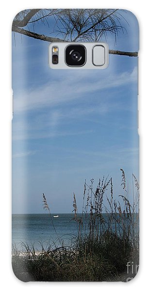 A Beautiful Day At A Florida Beach Galaxy Case by Christiane Schulze Art And Photography