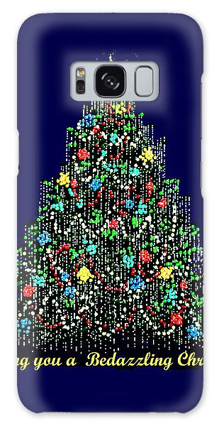 A Bedazzling Christmas Galaxy Case