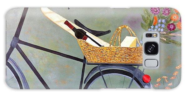 A Bicycle Break Galaxy Case