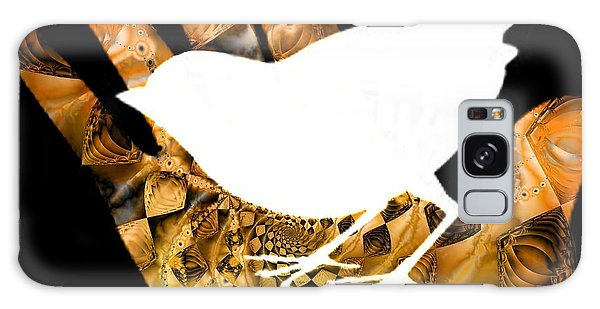 Imagery Galaxy Case - A Bird In The Hand Is Worth Two In The Bush  by Elizabeth McTaggart