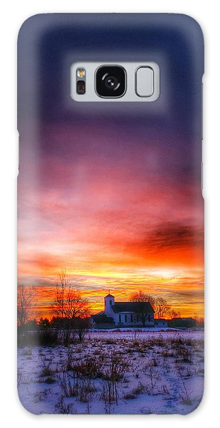 A Blessed Sunrise Galaxy Case