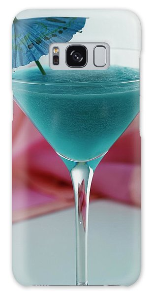 A Blue Hawaiian Cocktail Galaxy Case