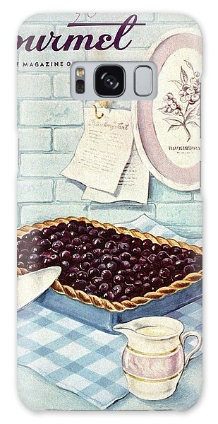 A Blueberry Tart Galaxy Case