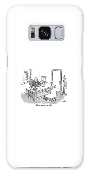 A Boss Asks His Employee Galaxy Case