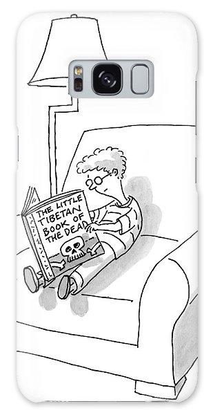 A Boy Reads The Little Tibetan Book Of The Dead Galaxy Case