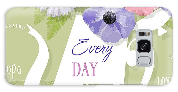 Quote Galaxy Case - A Brand New Day by Valerie Drake Lesiak