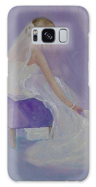 A Brides Soft Touch Galaxy Case