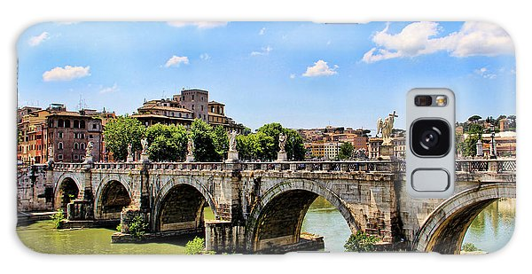 A Bridge In Rome Galaxy Case by Oscar Alvarez Jr