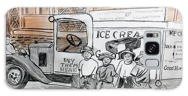 Old Truck Galaxy Case - A Brooklyn Memory by Arlene  Wright-Correll