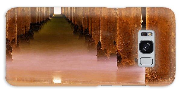 Board Walk Galaxy Case - A Calm Surf City by Heidi Smith
