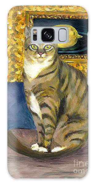 A Cat And Eduard Manet's The Lemon Galaxy Case