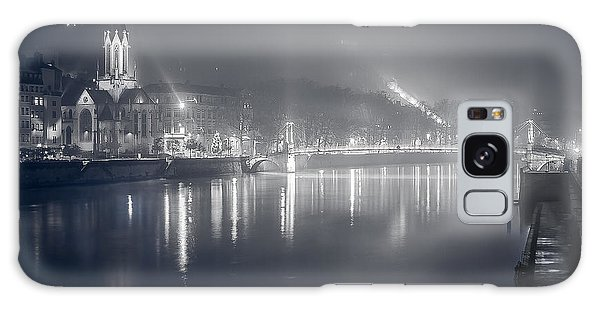 Galaxy Case featuring the photograph A Cathedral In The Mist II by Stwayne Keubrick