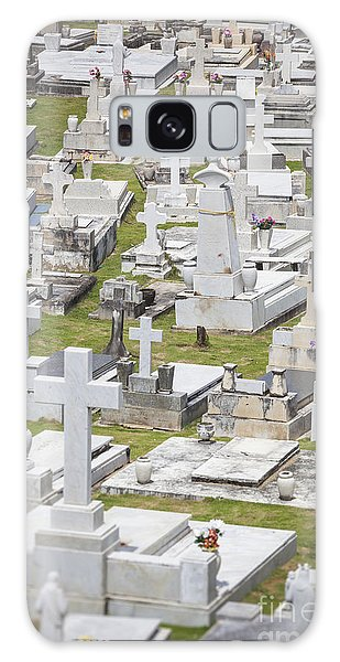 A Cemetery In Old San Juan Puerto Rico Galaxy Case