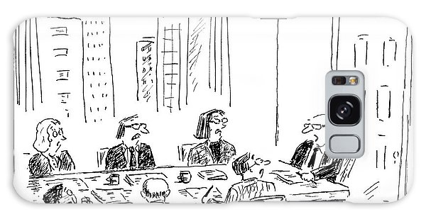 A Ceo Talks To His Board During A Board Meeting Galaxy Case
