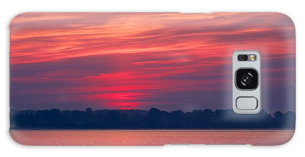 A Chesapeake Bay Sunrise Galaxy Case